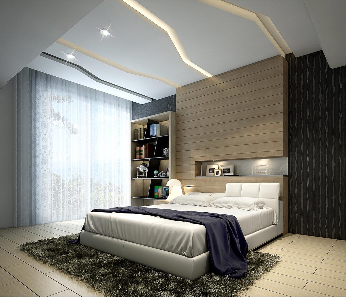 3D Innen Visualisierung Schlafzimmer